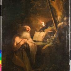 St. Jeroen paneel – Rembrandt?